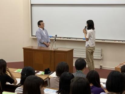 秋学期MFWI留学の結団式が行われました