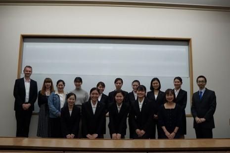 第34回英語オラトリカルコンテスト学内予選結果