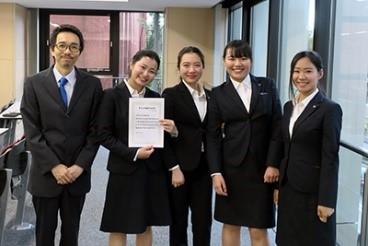 「みどり杯 英語弁論大会」で草野汐里さんが準優勝!