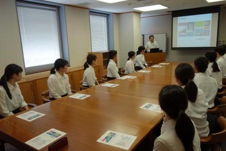 三菱倉庫株式会社 神戸支店にて企業研修が行われました