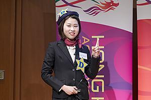 「香港杯」英語プレゼンコンテストで白根亜季乃さんが3位入賞! 英語文化学科が3年連続の上位入賞
